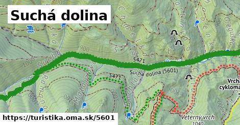 ilustračný obrázok k Suchá dolina