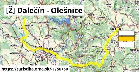 [Ž] Dalečín - Olešnice