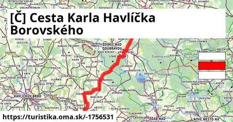 [Č] Cesta Karla Havlíčka Borovského