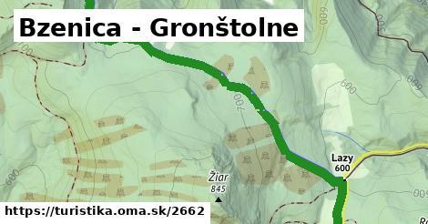 ilustračný obrázok k Bzenica - Gronštolne