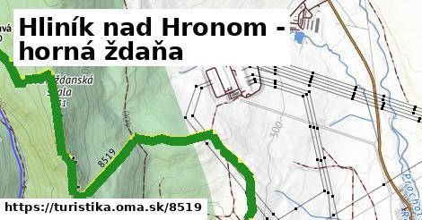 ilustračný obrázok k Hliník nad Hronom - horná ždaňa
