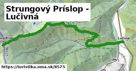 ilustračný obrázok k Strungový Príslop - Lučivná