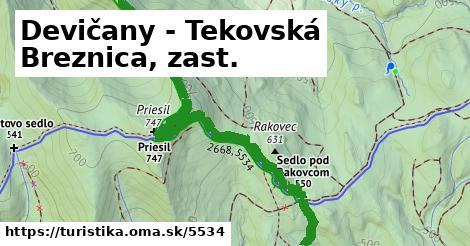ilustračný obrázok k Devičany - Tekovská Breznica, zast.