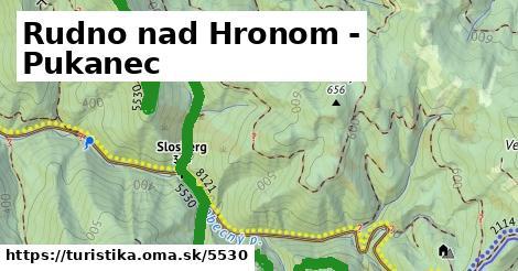 ilustračný obrázok k Rudno nad Hronom - Pukanec