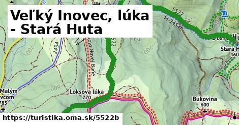 ilustračný obrázok k Veľký Inovec, lúka - Stará Huta