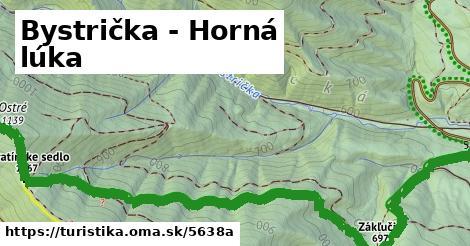ilustračný obrázok k Bystrička - Horná lúka