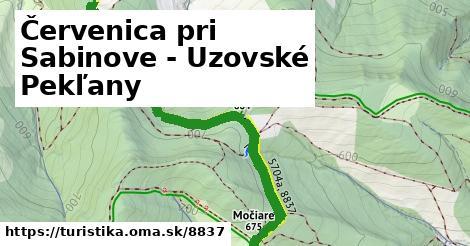 ilustračný obrázok k Červenica pri Sabinove - Uzovské Pekľany