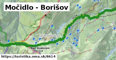 ilustračný obrázok k Močidlo - Borišov