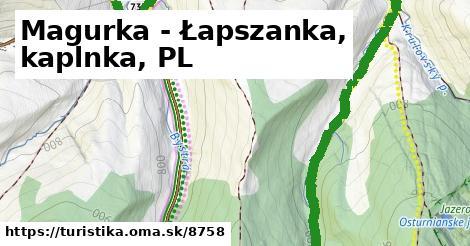 ilustračný obrázok k Magurka - Łapszanka, kaplnka, PL