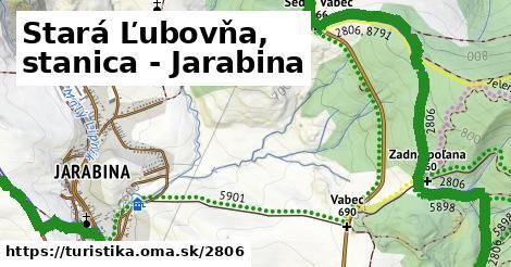 ilustračný obrázok k Stará Ľubovňa, stanica - Jarabina