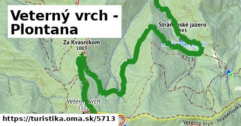 ilustračný obrázok k Veterný vrch - Plontana