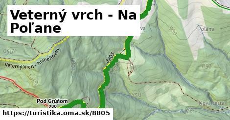 ilustračný obrázok k Veterný vrch - Na Poľane