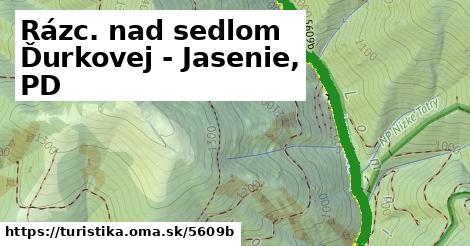 ilustračný obrázok k Rázc. nad sedlom Ďurkovej - Jasenie, PD