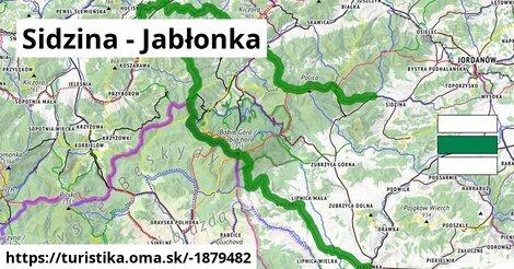 ilustračný obrázok k Sidzina - Jabłonka