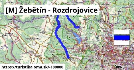 [M] Žebětín - Rozdrojovice