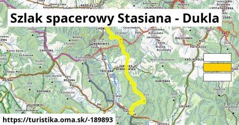 Szlak spacerowy Stasiana - Dukla
