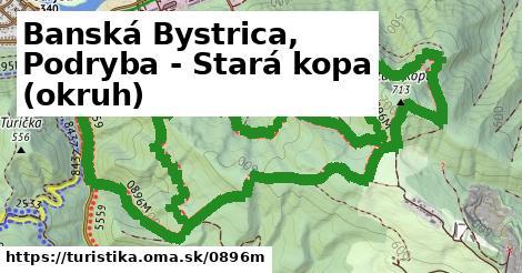 ilustračný obrázok k Banská Bystrica, Podryba - Stará kopa (okruh)
