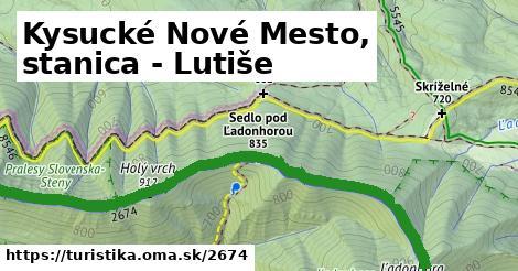 ilustračný obrázok k Kysucké Nové Mesto, stanica - Lutiše