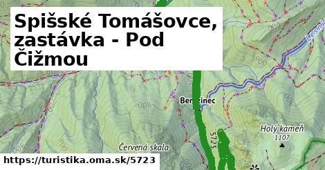 ilustračný obrázok k Spišské Tomášovce, zastávka - Pod Čižmou