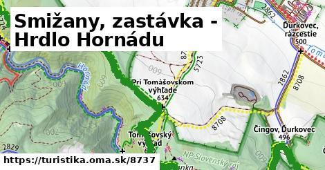 ilustračný obrázok k Smižany, zastávka - Hrdlo Hornádu
