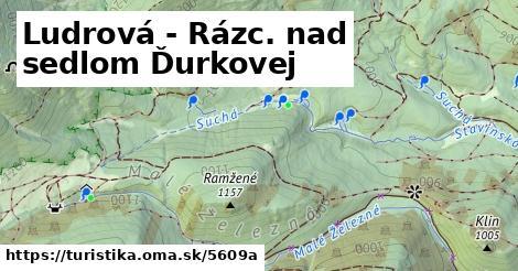 ilustračný obrázok k Ludrová - Rázc. nad sedlom Ďurkovej