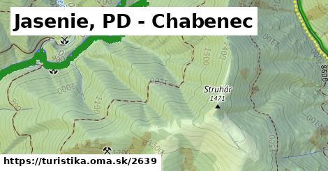 ilustračný obrázok k Jasenie, PD - Chabenec