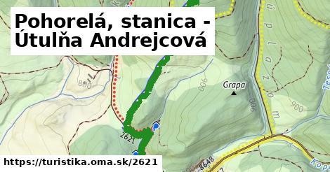 ilustračný obrázok k Pohorelá, stanica - Útulňa Andrejcová