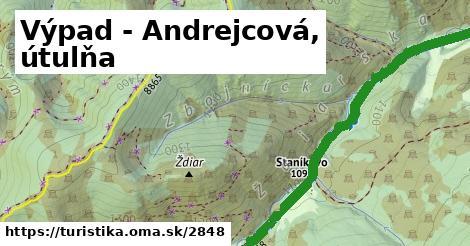 ilustračný obrázok k Výpad - Andrejcová, útulňa