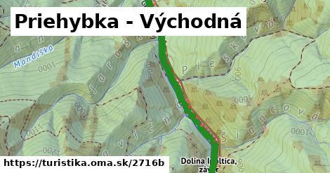 ilustračný obrázok k Priehybka - Východná