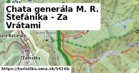 ilustračný obrázok k Chata generála M. R. Štefánika - Za Vrátami