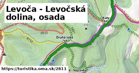 ilustračný obrázok k Levoča - Levočská dolina, osada
