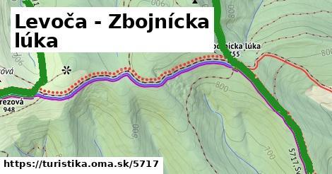 ilustračný obrázok k Levoča - Zbojnícka lúka