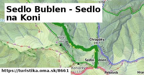 ilustračný obrázok k Sedlo Bublen - Sedlo na Koni
