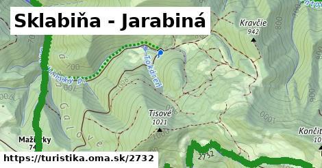ilustračný obrázok k Sklabiňa - Jarabiná