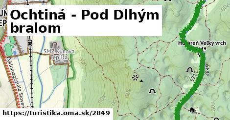 ilustračný obrázok k Ochtiná - Pod Dlhým bralom
