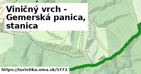 ilustračný obrázok k Viničný vrch - Gemerská panica, stanica