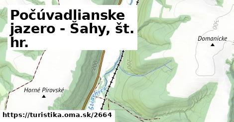 ilustračný obrázok k Počúvadlianske jazero - Šahy, št. hr.