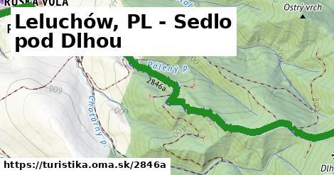 ilustračný obrázok k Leluchów, PL - Sedlo pod Dlhou