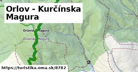ilustračný obrázok k Orlov - Kurčínska Magura