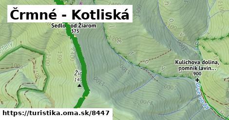 ilustračný obrázok k Črmné - Kotliská