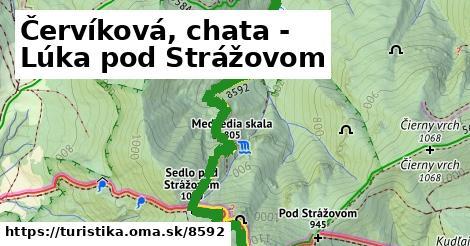 ilustračný obrázok k Červíková, chata - Lúka pod Strážovom