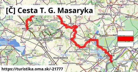 cesta T. G. Masaryka