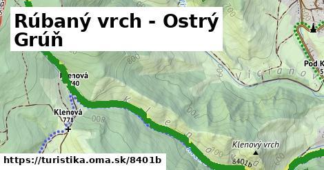 ilustračný obrázok k Rúbaný vrch - Ostrý Grúň