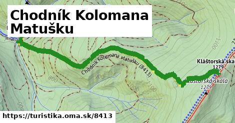 ilustračný obrázok k Chodník Kolomana Matušku