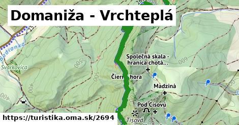 ilustračný obrázok k Domaniža - Vrchteplá
