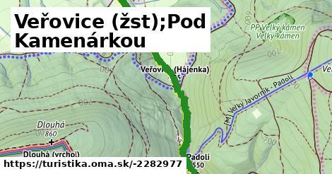 Veřovice (žst);Pod Kamenárkou