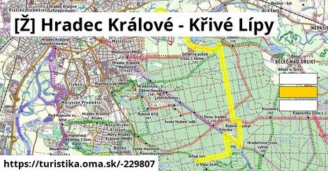[Ž] Hradec Králové - Křivé Lípy
