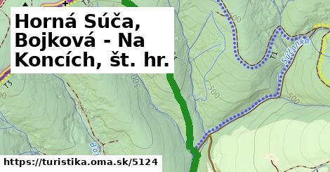 ilustračný obrázok k Horná Súča, Bojková - Na Koncích, št. hr.