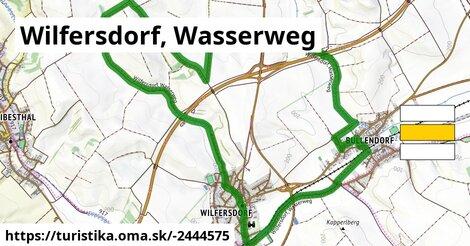 Wilfersdorf, Wasserweg