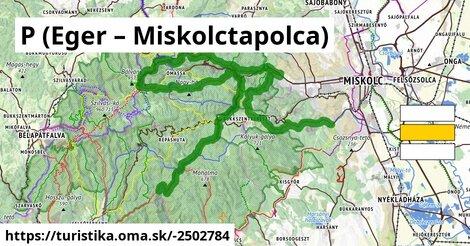 P (Eger – Miskolctapolca)